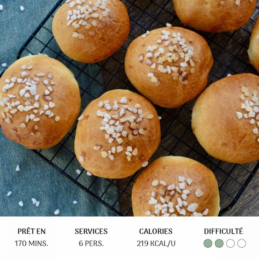 Petites brioches - Diet&Cie
