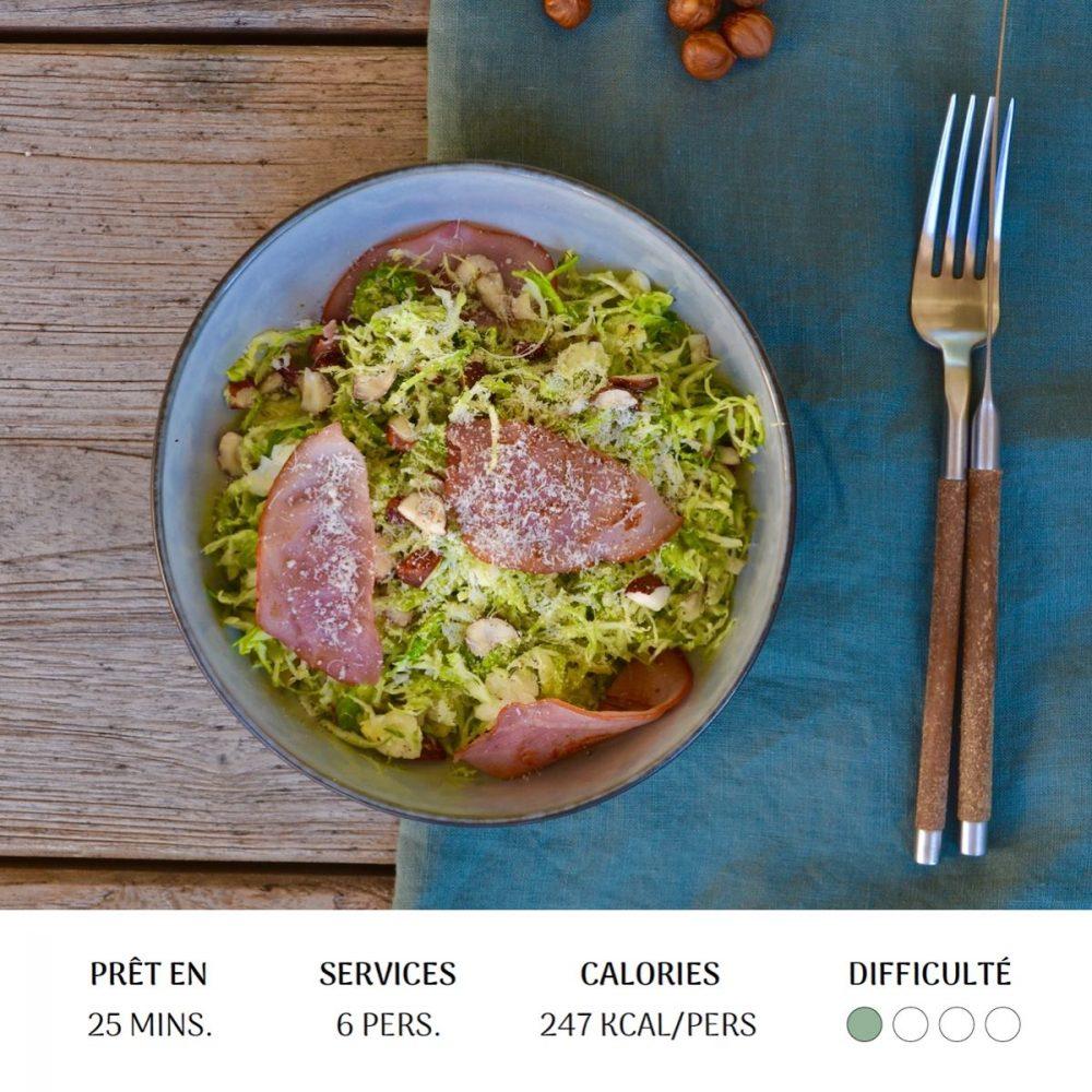 Salade de P'tits Choux - Diet&Cie Diététicienne en ligne