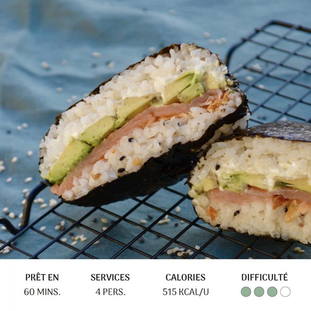 Sushi Sandwich - Diet&Cie diététicienne en ligne