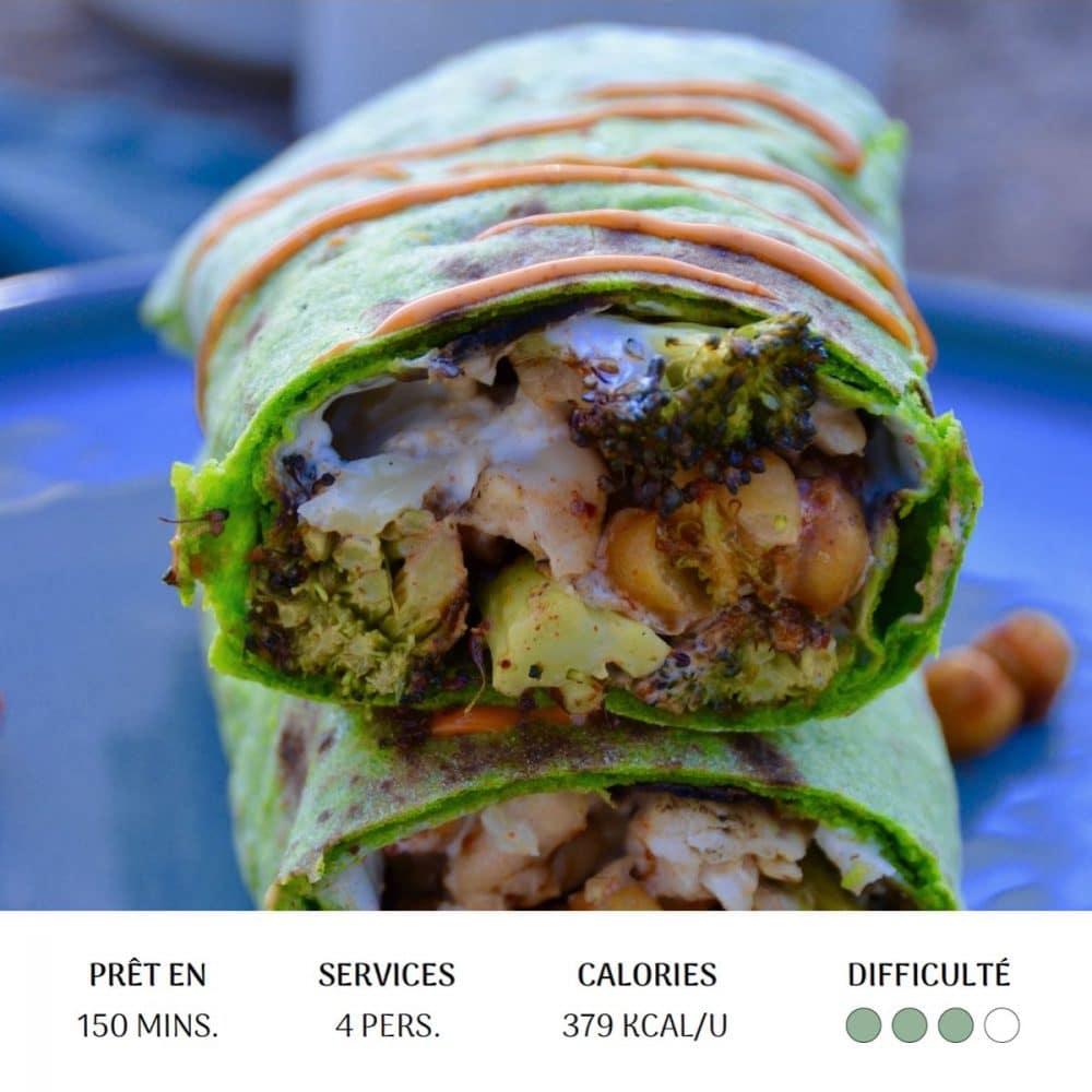 Green Wrap - Diet&Cie diététicienne en ligne