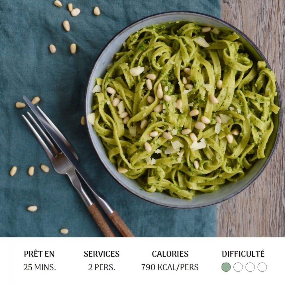 Pesto d'épinards - Diet&Cie diététicienne en ligne