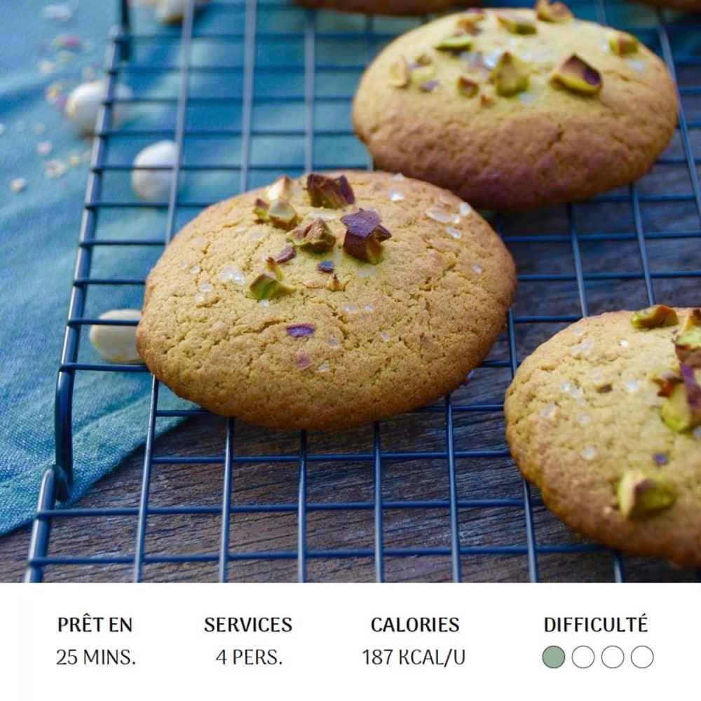 Cookies Matcha - Diet&Cie Diététicienne en ligne