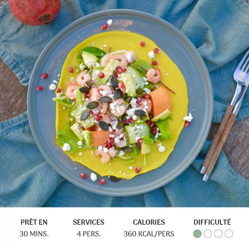 Pancake Asiatique - Diet&Cie Diététicienne en ligne