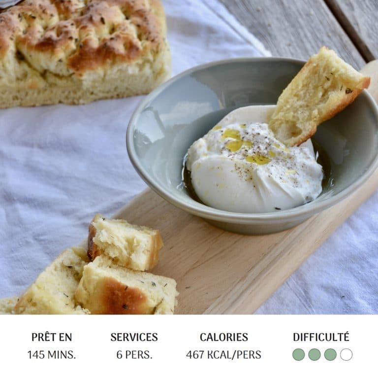Focaccia - Diet&Cie diététicienne en ligne