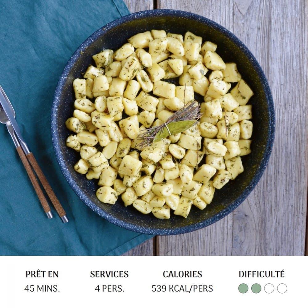 Gnocchis Ricotta - Diet&Cie diététicienne en ligne