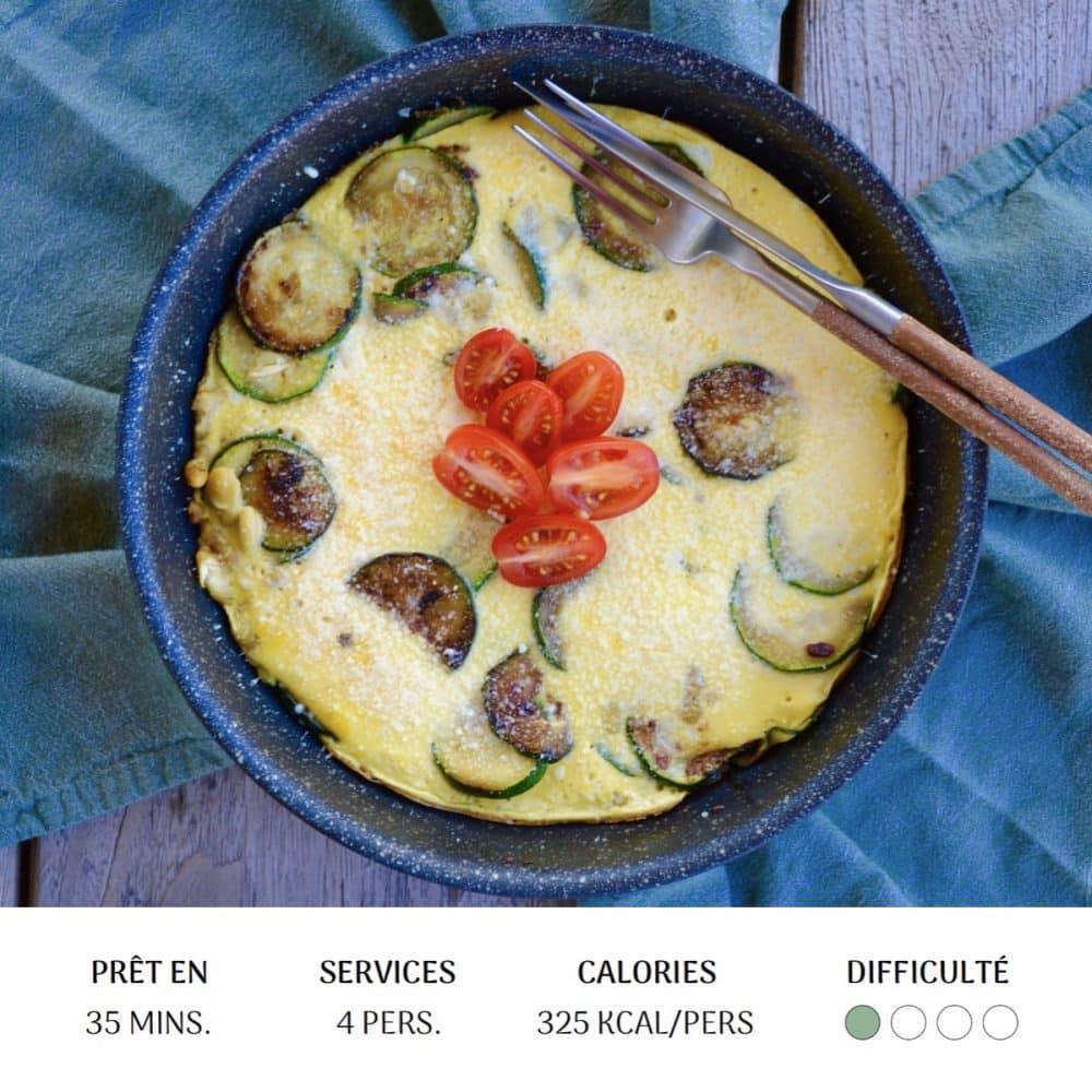Omelette Végé - Diet&Cie diététicienne en ligne